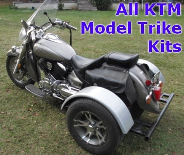 KTM Motorcycle Trike Kit - Fits All Models