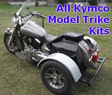 Kymco Motorcycle Trike Kit - Fits All Models