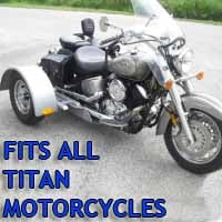 Titan Motorcycle Trike Kit - Fits All Models