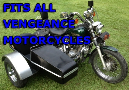 Vengeance Side Car Motorcycle Sidecar Kit