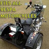 Vespa Motorcycle Trike Kit - Fits All Models