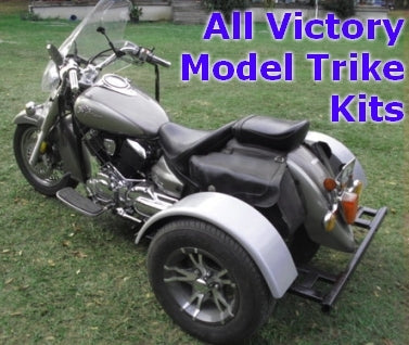 Victory Motorcycle Trike Kit - Fits All Models