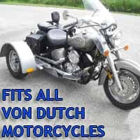Von Dutch Motorcycle Trike Kit - Fits All Models