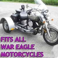 War Eagle Motorcycle Trike Kit - Fits All Models