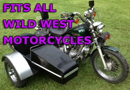 Wild West Side Car Motorcycle Sidecar Kit
