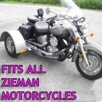 Zieman Motorcycle Trike Kit - Fits All Models