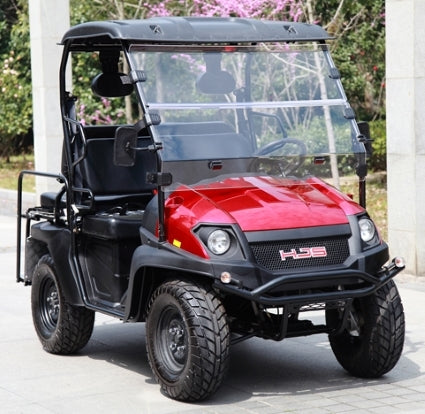 Brand New Gas Golf Cart UTV Hybrid Linhai Big Horn 200 GVX 4 Seater Side by Side UTV