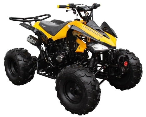 125cc Coolster Atv Intruder Midsize ATV W/Reverse -  ATV-3125CX-2 - Fully Assembled