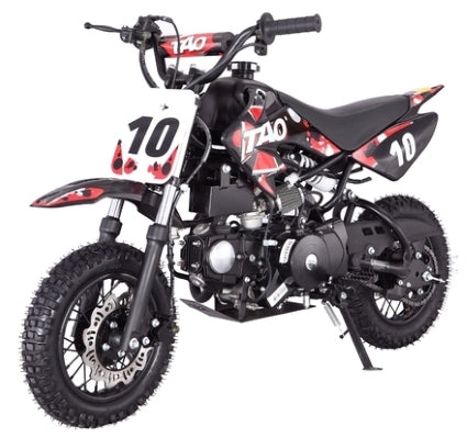 110cc Dirt Bike Automatic Pit Dirt Bike Motorcycle w/ E-Start - 50cc FRAME SIZE W/24