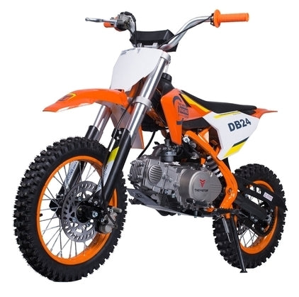 110cc Dirt Bike Semi Automatic Air Cooled Pit Bike - DB24