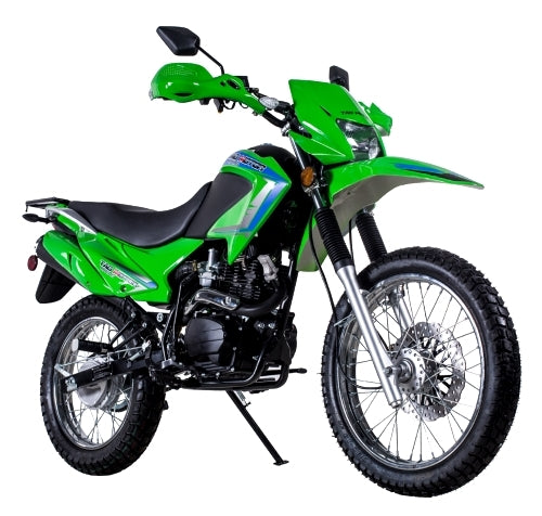 250cc Enduro Street Legal Dirt Bike with 229cc Motor 5 Speed Manual w/ Electric Start & Kick Start - TBR7