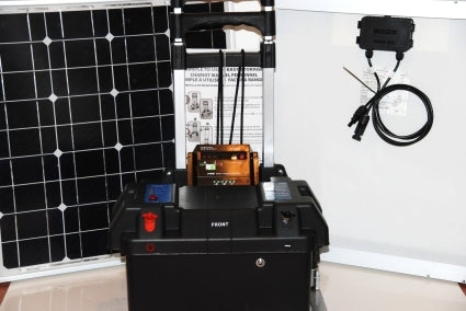 Solar Powered Generator 100 Amp 3000 Watt Solar Generator Just Plug and Play