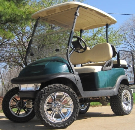 48V Green Club Car Precedent Lifted Electric Golf Cart