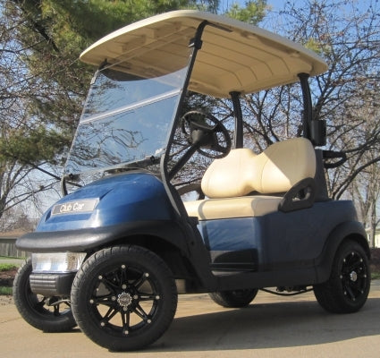 48V Navy Blue Club Car Precedent Electric Golf Cart