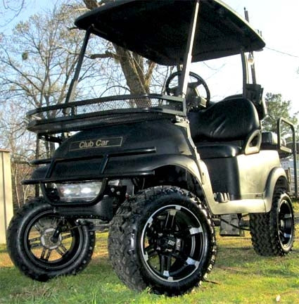 48V Black Ops Club Car Precedent Golf Cart