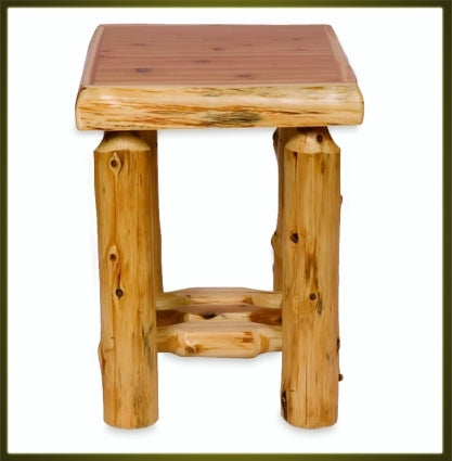Brand New Rustic Furniture Open Nightstand - Traditional
