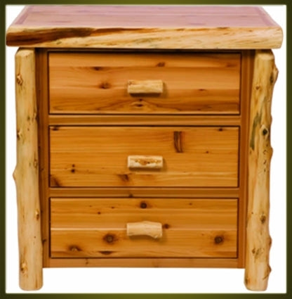Brand New Rustic Furniture Traditional 3 Drawer Dresser
