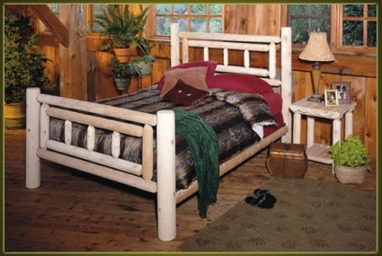 Brand New GoodTimber Rustic Furniture Deluxe Log Bed