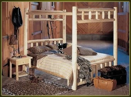 Brand New GoodTimber Rustic Furniture Canopy Bed