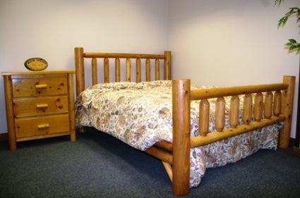 Brand New Rustic Furniture Queen Bed