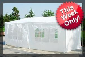 10 x 20 White Gazebo Party Tent Canopy