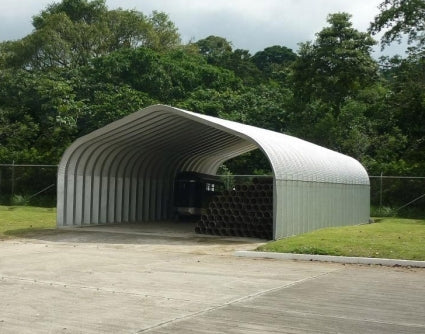 30' x 20' x 15' Pitched Roof Motorcycle ATV Carport Cover Building