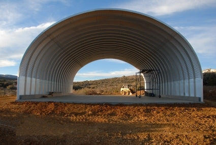 20' x 20' x 14' Prefab Metal Arch Cover Garage Storage Building