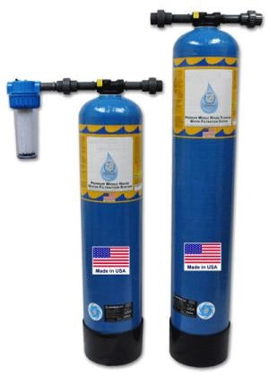 Complete 5-7 Year Whole House Water Filtration System + Fluoride Removal