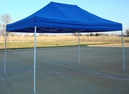 Heavy Duty 10' x 15' Blue Pop Up Party Tent