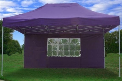 Heavy Duty 10' x 15' Purple Pop Up Party Tent