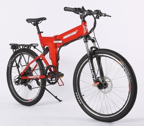 X-Cursion Elite Max 36 Volt Folding Lithium Power Assisted Mountain Bike - X-CURSION36-EM