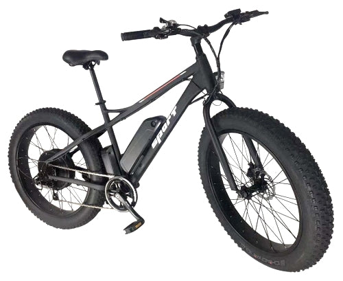 48v Electric Fat Tire Bike 500 Watt Lithium Ion Battery Beach Cruiser Mountain Bicycle