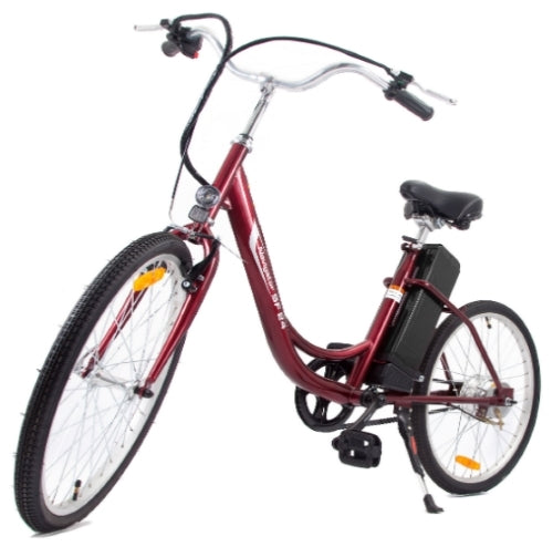 250 Watt E Bike Step Through Single Speed Electric Bicycle