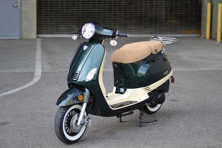 Znen 150cc 2 Tone 4 Stroke Gas Moped Scooter - ZN150-30-A-2-TONE-150cc-California-Pickup
