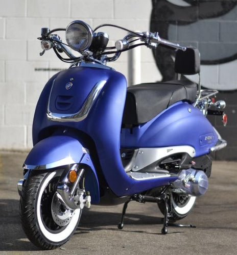 Znen 150cc 4 Stroke Gas Moped Scooter - Zn150T-G-California-Pickup