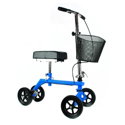 Brand New High Quality Blue Knee Rollator Walker Scooter Cruiser Roller