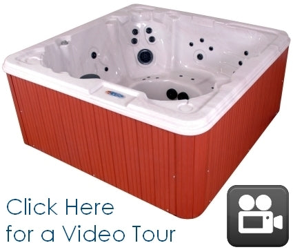 Great Sport 8 Person Hot Tub Spa w/ AM/FM Stereo and IPOD/MP3 ready