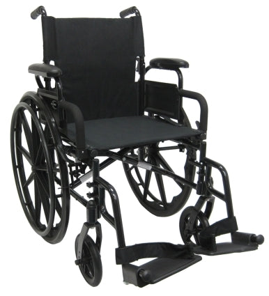 Brand New High Quality Karman 802-DY � Ultra Lightweight Wheelchair with Flip Back Armrest
