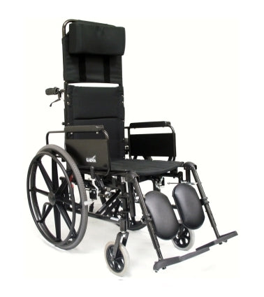New Wheelchair High Quality Karman KM5000F Lightweight Reclining Wheelchair with Removable Desk Armrest