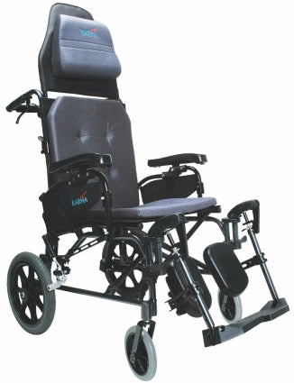 Brand New High Quality Karman MVP-502-TP � 34 lbs V-Seat Reclining Wheelchair