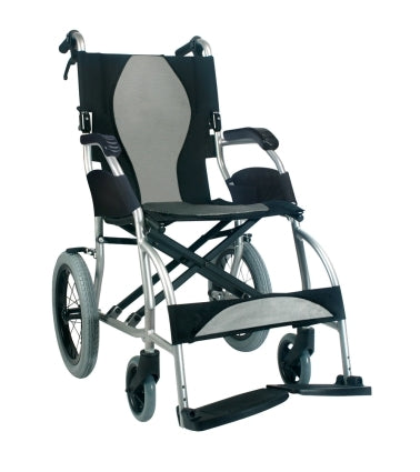 Brand New High Quality Karman 18 lbs Ultralight Transport Wheelchair