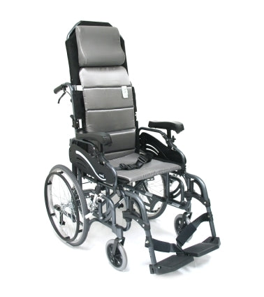 Karman Wheelchair VIP-515 � Tilt in Space Lightweight Reclining Wheelchair with 20