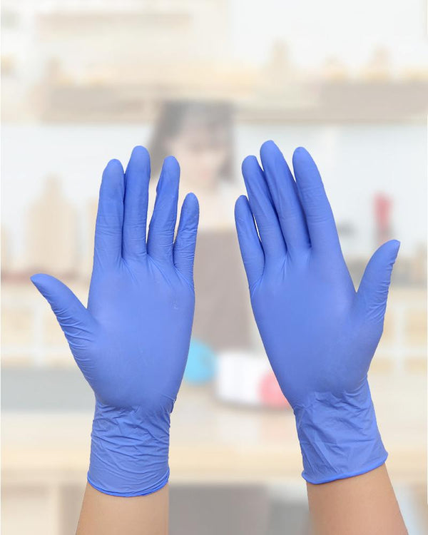 100PCs disposable gloves rubber latex gloves, used in household general garden household cleaning medical gloves
