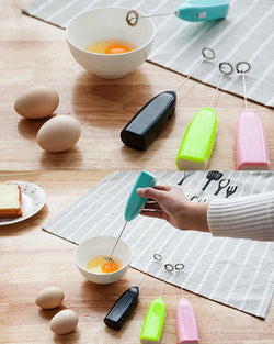 Electric Mini Handel Milk coffee egg Whisk mixer beater Kitchen Cooking Tool