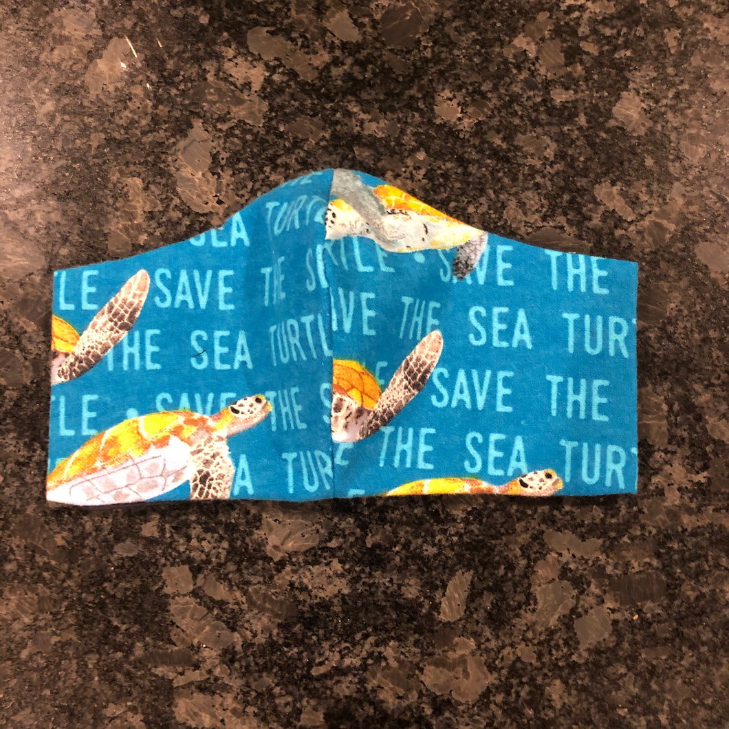 Save The Sea Turtles Mask