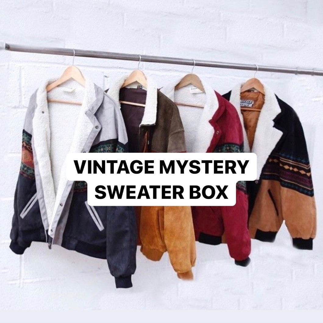 Vintage Mystery Sweater Box