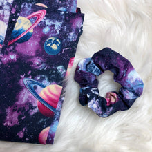 Load image into Gallery viewer, Galaxy scrunchie