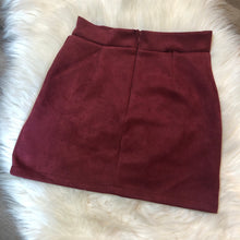 Load image into Gallery viewer, Suede Skirt