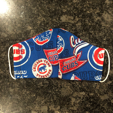 Cubs Face Mask