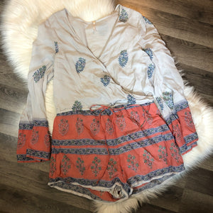 RARE Free People Romper